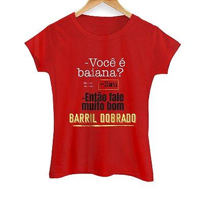 Camiseta Feminina Barril Dobrado