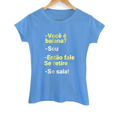 Camiseta Feminina Se Saia!