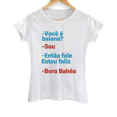 Camiseta Feminina Bora Bahêa