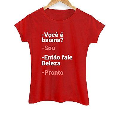 Camiseta Feminina Pronto
