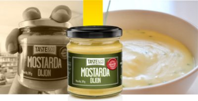 Mostarda Dijon 185g – Taste & Co.