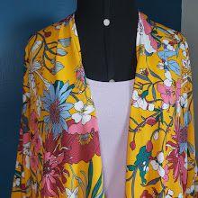 Kimono Midi Amarelo