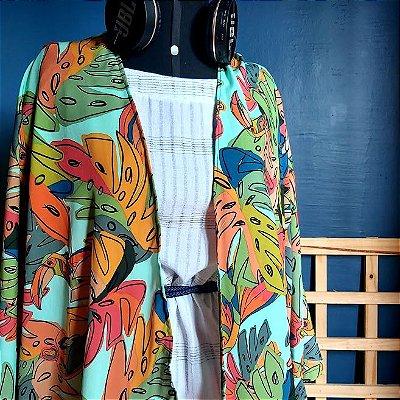 Kimono Folhas