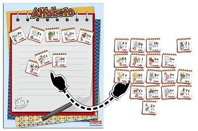 Cartaz Para Sala De Aula Alfabeto Mônica