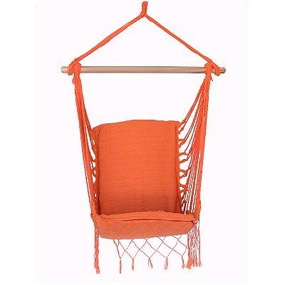 Rede Cadeira Suspensa Laranja