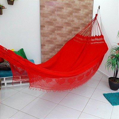 Rede de Dormir Tambaba Life Vermelha