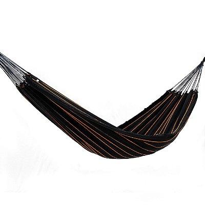 Rede de Dormir Tropical Preto Listrada