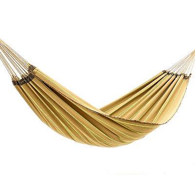 Rede de Dormir Tropical Caramelo Listrada