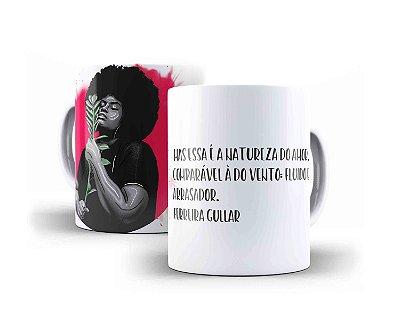 """CANECA FERREIRA GULLAR """"MAS ESSA É A NATUREZA DO AMOR, COMPARÁVEL À DO VENTO: FLUÍDO E ARRASADOR."""""""