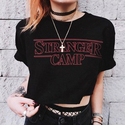 Cropped Stranger Camp