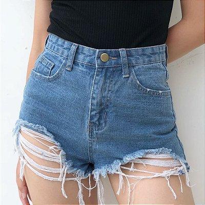 Short Jeans Rasgado