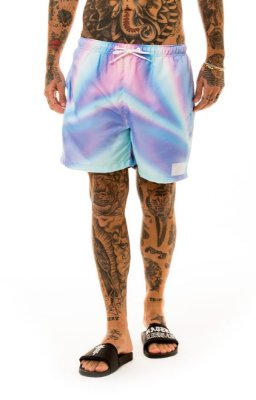 BEACH SHORTS HOLOGRAPHIC
