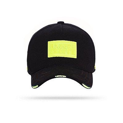 CAP LABEL BLACK