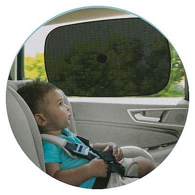 Protetor Solar Para Carro Com Ventosas C/ 2 Unidades