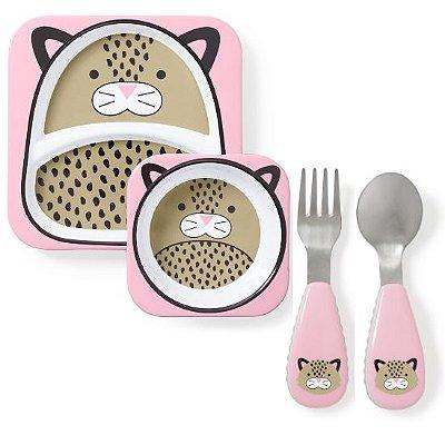 Kit Alimentação Skip Leopardo