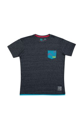 Camiseta CCXP Pocket Azul Masculina