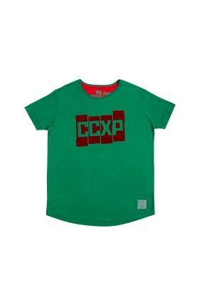 Camiseta CCXP Blocks Verde