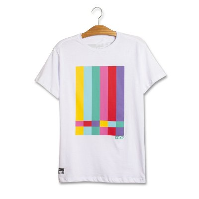 Camiseta TV Stripes Branca
