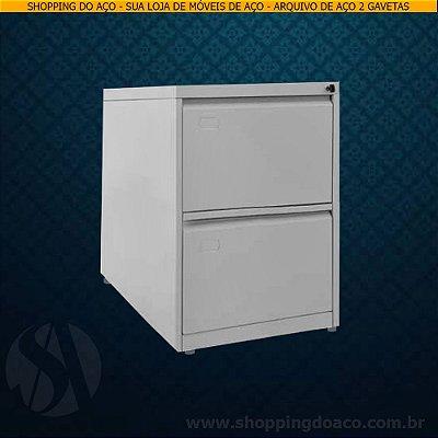 Arquivo de Aço para pasta suspensa com 2 gavetas LN