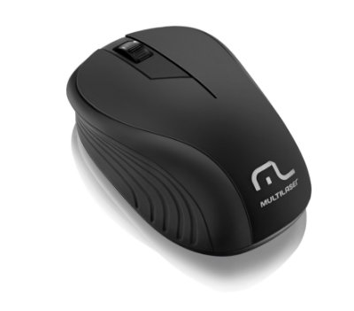 Multilaser Mouse sem Fio 2.4GHz 1200dpi MO212 Preto