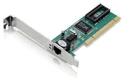 Placa de Rede PCI Conexão RJ45 - Multilaser GA131