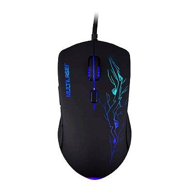Mouse Gamer 3200DPI 6 Botões 7 Cores LED - MO276