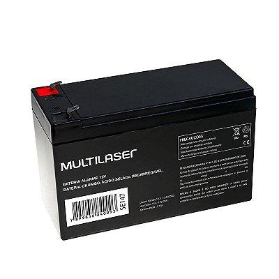 Bateria para Alarme ou Cerca Elétrica 12v Multilaser F01 SE