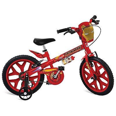 Bicicleta 16 Pol. Homem de Ferro Bandeirante