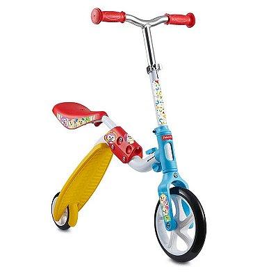 Bicicleta de Equilíbrio e Patinete 2 Em 1 Fisher Price - ES