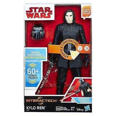 Boneco 30 Cm Star Wars Episódio VIII Kylo Ren - Hasbro