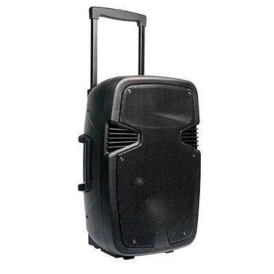 Caixa De Som Ativa 15 Polegadas Bt/Usb/Fm/Aux/Mic 250W - SP2