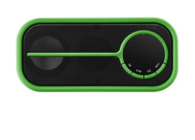 Caixa de som Bluetooth color verde - Pulse - SP207