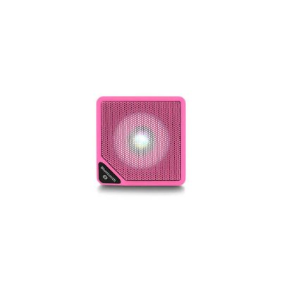 Caixa de Som Cubo Speaker com 3W Luz de LED Conexão USB Blu