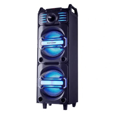 Caixa de Som Amplificada Party Speaker DJ Bluetooth 350W RMS