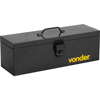 Caixa de Ferramentas Metálica tipo Bau com Bandeja - Vonder