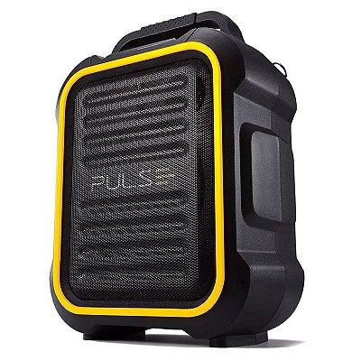 Caixa De Som Multiuso BT/FM/AUX/SD/USB/MIC Pulse Multilaser
