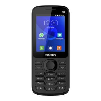CELULAR POSITIVO FEATURE PHONE C/ WHATSAPP P-70 DU - 1113238