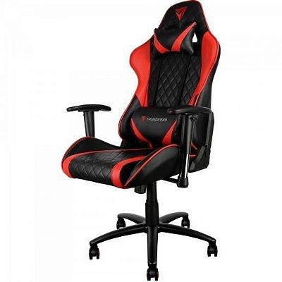 Cadeira Gamer Profissional TGC15 Preta c/ Vermelho THUNDERX3