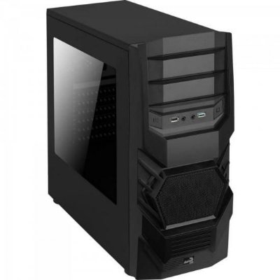 Gabinete Gamer Mid Tower 3.0 CYCLOPS BLACK EDITION Preto AER