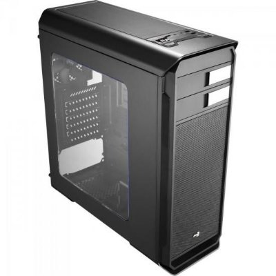 Gabinete Gamer Mid Tower AERO-500 WINDOW EN55576 Preto AEROC