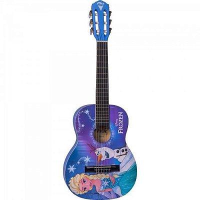 "Violão Acústico Infantil Nylon 30"" (1/4) Disney Frozen VIF"