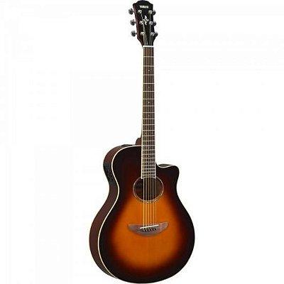 Violão Eletroacústico Aço APX600 Old Violin Sunburst YAMA