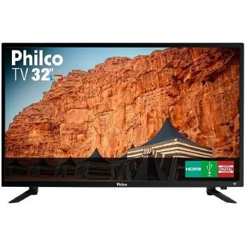 TV 32P PHILCO LED HD USB HDMI - PTV32C30D