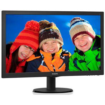 MONITOR LED PHILIPS 23.6 POLEGADAS HDMI SPEAKER 243V5QHAB  -
