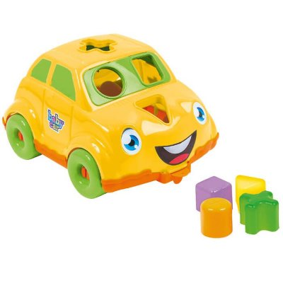 Carrinho Didatico Amarelo Bs Toys