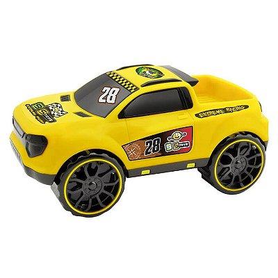 Carro Pick-up Mônaco Amarelo 216e - Bs Toys