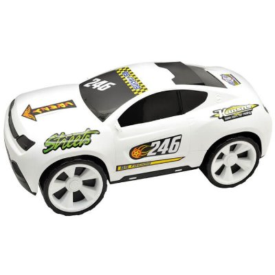 Carro Stock Kansas Branco 246g - Bs Toys