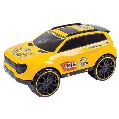 Carro Suv Impéria Amarelo 217e - Bs Toys
