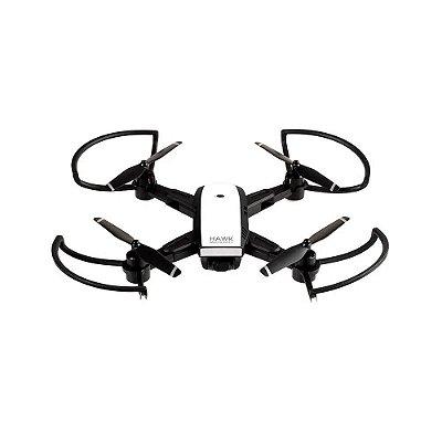 Drone Multilaser Hawk GPS FPV Câmera HD 1280P Bateria 10 mi