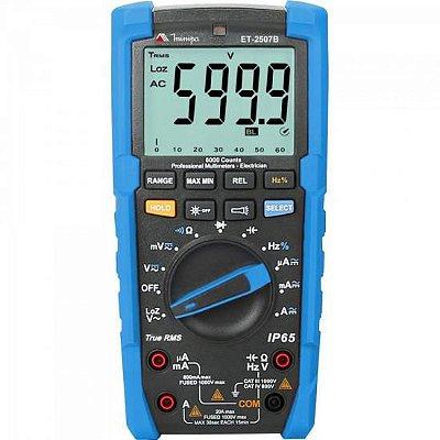 Multímetro Digital ET2507-B Azul MINIPA
